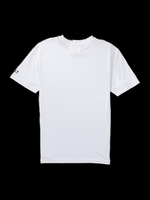 HALO COTTON TEE, OPTIC WHITE, packshot