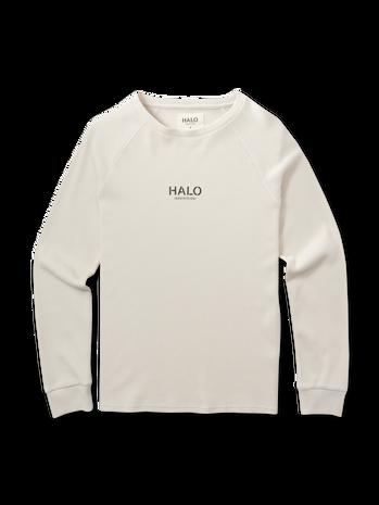HALO WAFFLE LONGSLEEVE, PUMICE STONE, packshot