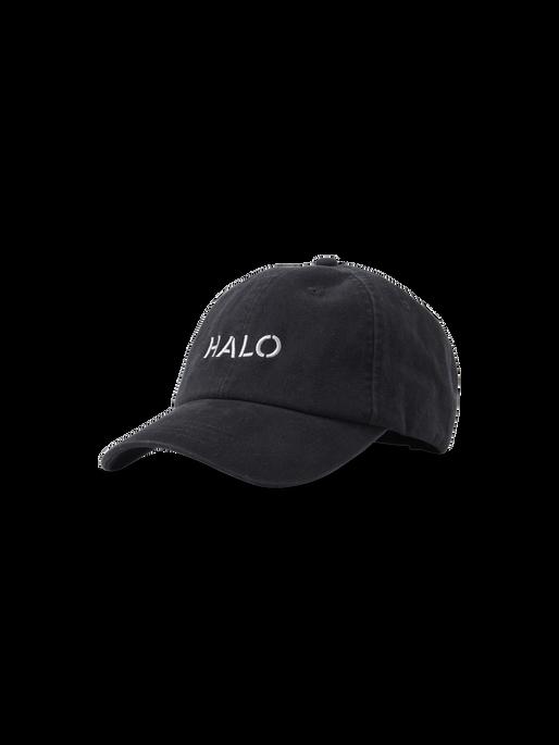 HALO CAP, BLACK, packshot