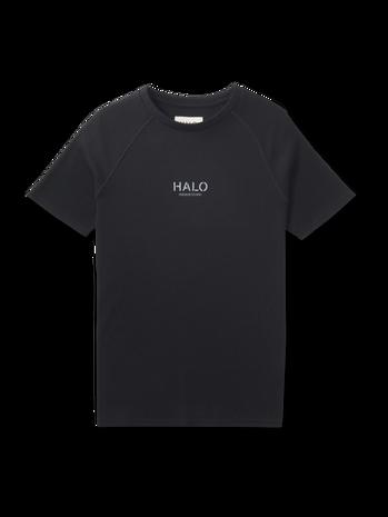 HALO WAFFLE TEE, BLACK, packshot