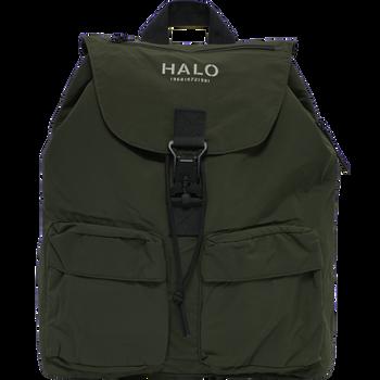 HALO NYLON BACKPACK, IVY GREEN, packshot