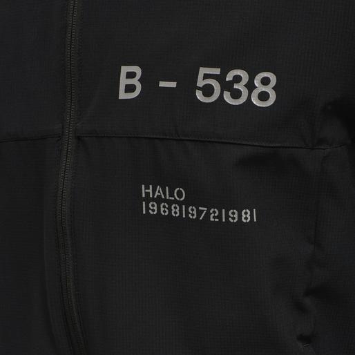 HALO TECH JACKET, BLACK, packshot