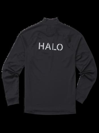 HALO ATW HALF ZIP, BLACK, packshot