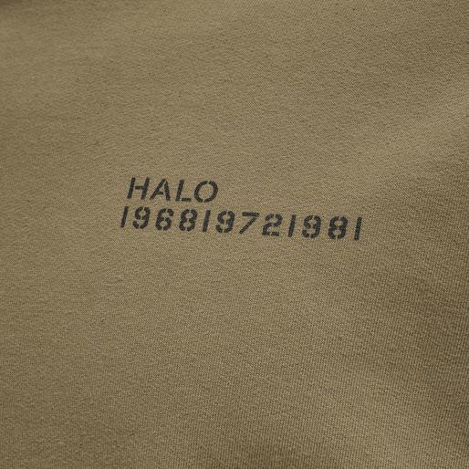 HALO COTTON CREW, VINTAGE BROWN, packshot