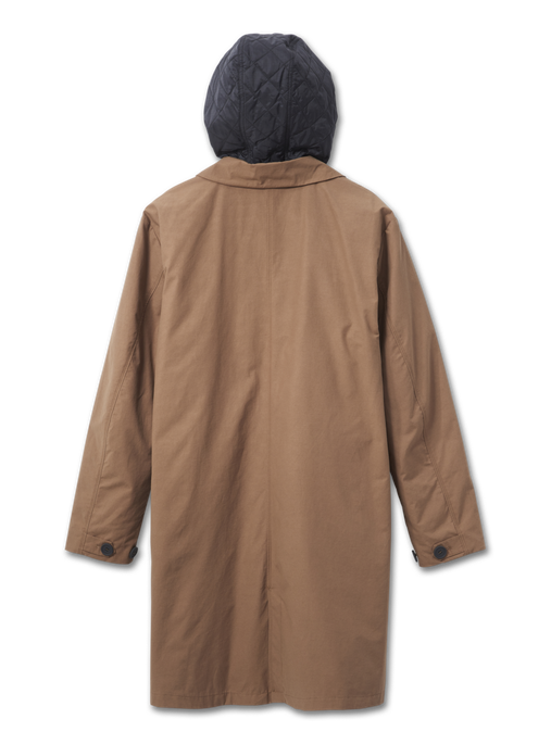 HALO MILITARY COAT, VINTAGE BROWN, packshot