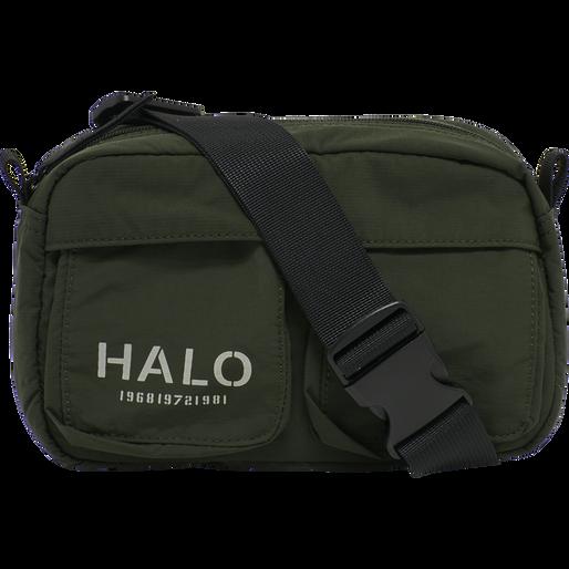 HALO NYLON WAIST BAG, IVY GREEN, packshot