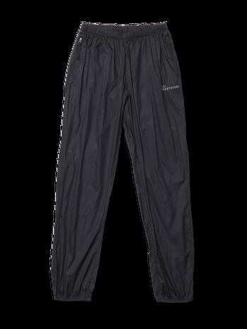 HALO PACKABLE PANT, BLACK, packshot