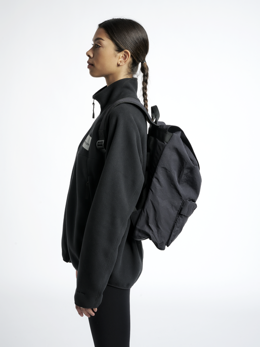HALO NYLON BACKPACK, BLACK, model